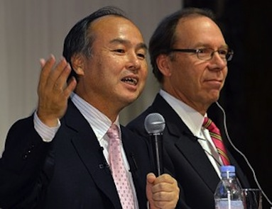 JAPAN-US-TELECOM-MERGER-COMPANY-SOFTBANK-SPRINT