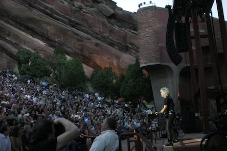 The Moody Blues play the first concert at Red Rocks for the 2011 summer concert season - May 7, 2011