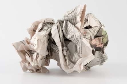 newspaper-crumpled