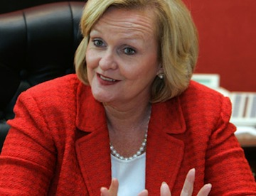 McCaskill Making Waves