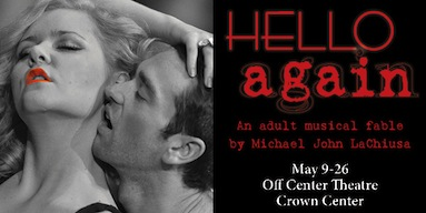 Hello Again, now through May 26th at Spinning Tree