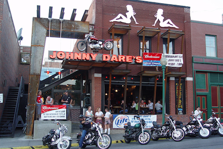 Johnny Dare's frontage