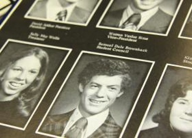 Sam Brownback Parker HS Yearbook