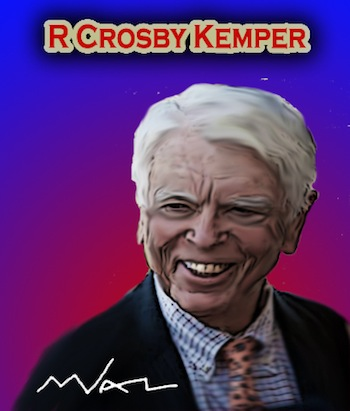 R. Crosby Kemper Jr. by Mark Valentine