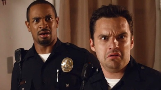 Damon-Wayans-Jr-and-Jake-Johnson-in-LETS-BE-COPS
