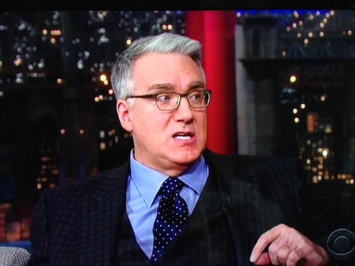 Keith Olbermann trashes soccer on David Letterman show Tuesday