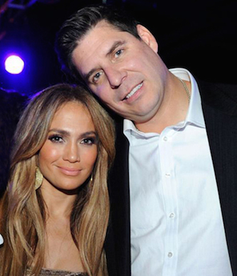 New Sprint boss Marcelo  Claure hanging with J-Lo at his birthday party